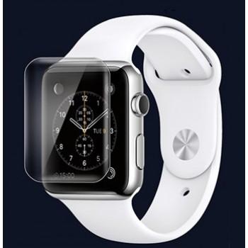 Экстразащитная термопластичная уретановая пленка на плоскую и изогнутые поверхности экрана для Apple Watch 42мм