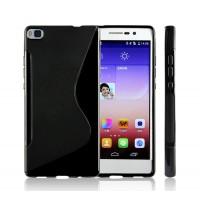 Силиконовый S чехол для Huawei P8