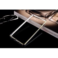 Металлический бампер для Huawei P8 Серый
