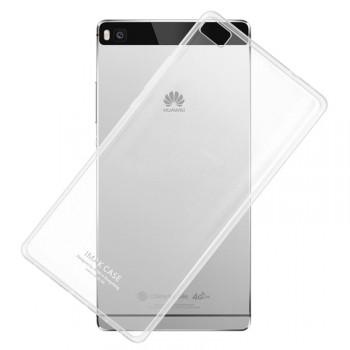 Силиконовый транспарентный чехол для Huawei P8