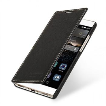 Кожаный чехол горизонтальная книжка (нат. кожа) для Huawei P8