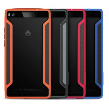 Бампер повышенной защиты силикон-пластик для Huawei P8