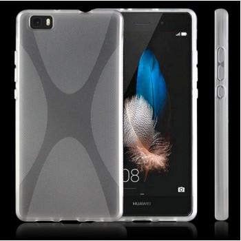Силиконовый X чехол для Huawei P8 Lite