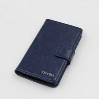 Чехол портмоне подставка с магнитной защелкой и гладкой текстурой для LG G4 S Синий