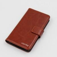 Чехол портмоне подставка с магнитной защелкой и гладкой текстурой для LG G4 S Коричневый
