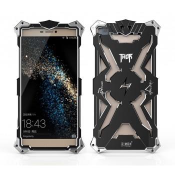 Металлический винтовой чехол повышенной защиты для Huawei P8