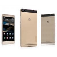 Силиконовый матовый полупрозрачный чехол для Huawei P8