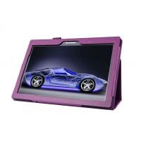 Чехол подставка с рамочной защитой для Lenovo Tab 2 A10-70/Tab 3 10 Business Фиолетовый