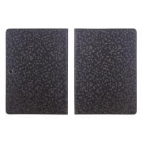 Чехол подставка с рамочной защитой текстура Соты для Lenovo Tab 2 A10-70/Tab 3 10 Business Черный