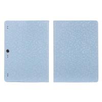 Чехол подставка с рамочной защитой текстура Соты для Lenovo Tab 2 A10-70/Tab 3 10 Business Голубой