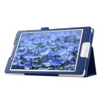 Чехол подставка с рамочной защитой для Lenovo Tab 2 A8 Синий