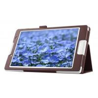 Чехол подставка с рамочной защитой для Lenovo Tab 2 A8 Коричневый
