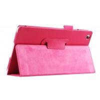 Чехол подставка с рамочной защитой для Lenovo Tab 2 A8 Пурпурный