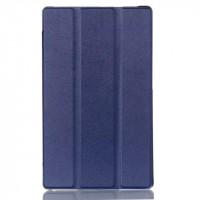 Чехол флип подставка сегментарный для Lenovo Tab 2 A8 Синий