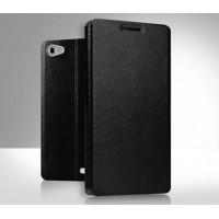Чехол флип подставка водоотталкивающий для Huawei MediaPad X2 Черный