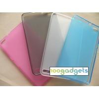 Силиконовый матовый полупрозрачный чехол для Huawei MediaPad X2
