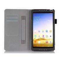 Чехол подставка с рамочной защитой и внутренними отсеками для Huawei MediaPad M1 8.0