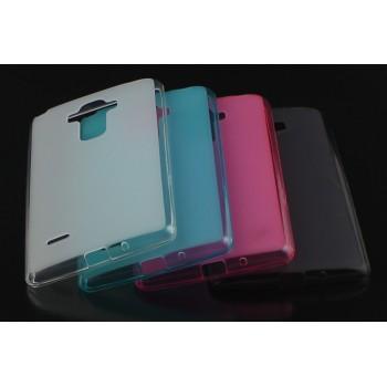 Силиконовый матовый полупрозрачный чехол для LG G4 S