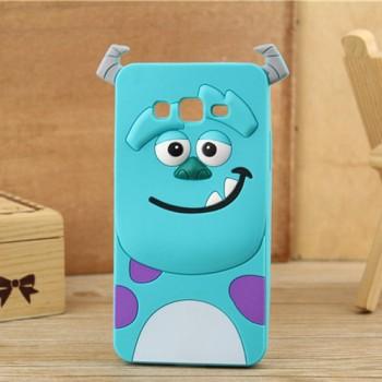 Силиконовый дизайнерский фигурный чехол для Samsung Galaxy Grand Prime