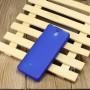 Силиконовый матовый полупрозрачный чехол для Nokia 515