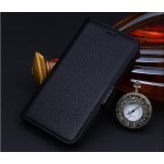 Кожаный чехол портмоне (нат. кожа) для Lenovo Vibe Shot