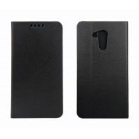 Чехол портмоне подставка на силиконовой основе для Acer Liquid Z410 Черный