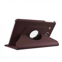 Чехол подставка роторный для Samsung Galaxy Tab E 9.6 Коричневый