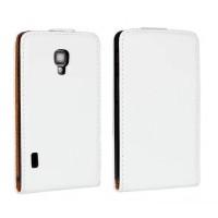 Чехол книжка вертикальная для LG Optimus L7 2 II P713 Белый