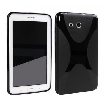 Силиконовый матовый X чехол для Samsung Galaxy Tab E 9.6