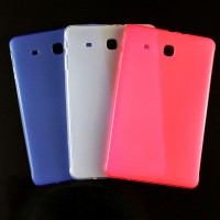 Силиконовый матовый полупрозрачный чехол для Samsung Galaxy Tab E 9.6