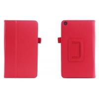 Чехол подставка с рамочной защитой для ASUS ZenPad C 7.0 Красный