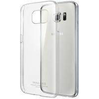 Пластиковый транспарентный чехол для Samsung Galaxy S6 Edge