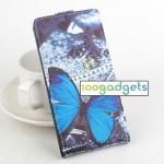 Чехол вертикальная книжка на пластиковой основе с магнитной застежкой и полноповерхностным принтом для Explay Fresh