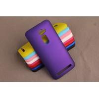 Пластиковый матовый непрозрачный чехол для Asus Zenfone 2 5 Фиолетовый