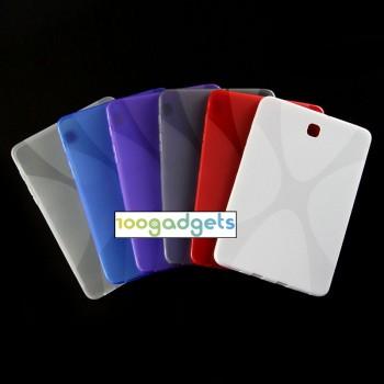 Силиконовый матовый X чехол для Samsung Galaxy Tab S2 8.0
