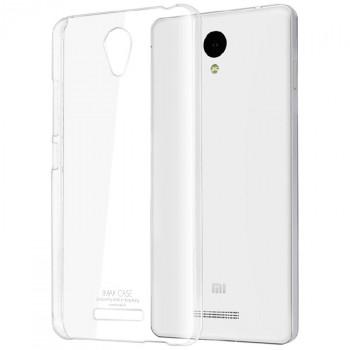 Пластиковый транспарентный чехол для Xiaomi RedMi Note 2