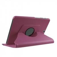 Чехол подставка роторный для Samsung Galaxy Tab S2 9.7 Фиолетовый