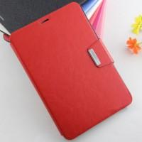 Чехол подставка с внутренними отсеками и защелкой для Samsung Galaxy Tab S2 8.0 Красный