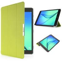 Чехол флип подставка сегментарный для Samsung Galaxy Tab S2 8.0 Зеленый