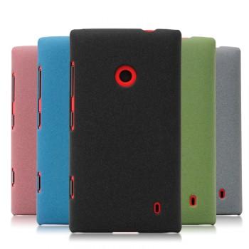 Пластиковый чехол с защитой от царапин для Nokia Lumia 520/525