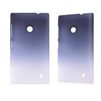 Градиентный пластиковый чехол для Nokia Lumia 520/525 Синий