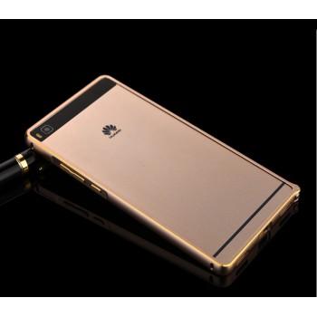 Металлический бампер для Huawei P8 Lite