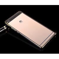 Металлический бампер для Huawei P8 Lite Черный