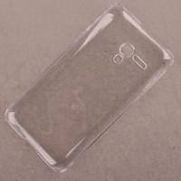 Пластиковый транспарентный чехол для Alcatel One Touch Pop D3