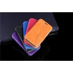Чехол флип подставка на пластиковой основе с внутренними слотами и магнитной защелкой для Alcatel One Touch Pixi 3 (4.0)