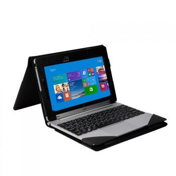 Кожаный чехол папка подставка с полной защитой экрана и клавиатуры для Acer Aspire Switch 10