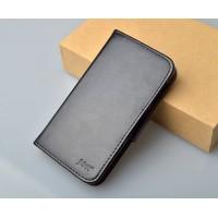 Чехол портмоне подставка с магнитной застежкой для Explay Craft Черный