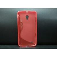 Силиконовый S чехол для Alcatel One Touch Pop 2 (5) Красный