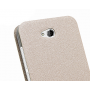 Чехол флип подставка с окном вызова и свайпом для HTC Desire 616