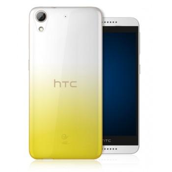 Силиконовый градиентный полупрозрачный чехол для HTC Desire 626/628